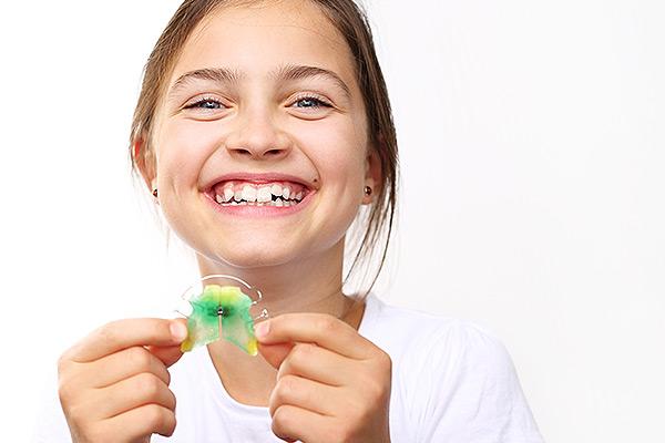 Lose Zahnspangen